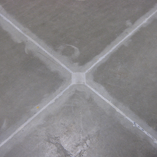 Industrial concrete crack repair