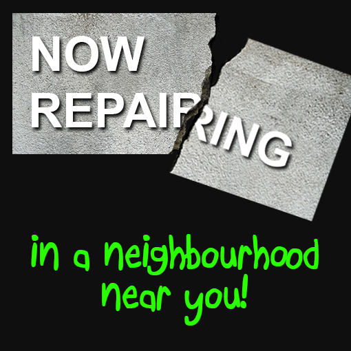 Rigid Concrete Raising and Repairs Now Repairing in a neighborhood near you