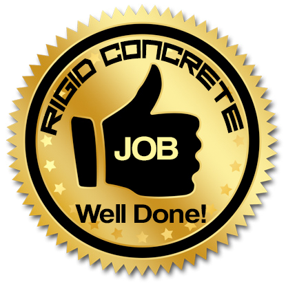 Rigid Concrete Raising and Repairs Job Well Done